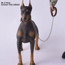 1/6 German Doberman Dog Statue Collectable Hot Toys Fit 12'' Action Figure(Soft)