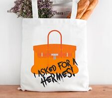 Funny Stylish Personalised Reusable  Cotton Designer Inspired Tote Bag Shopper