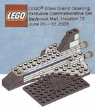 LEGO SPACE SHUTTLE HOUSTON GRAND OPENING SET Brand Store rare item loose