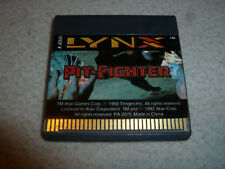 ATARI LYNX VIDEO GAME PIT FIGHTER CARTRIDGE ONLY TENGEN VINTAGE 1992