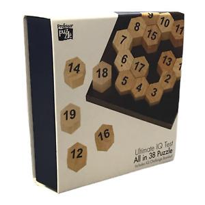 Professor Puzzle - Ultimate IQ Test All in 38 Puzzle