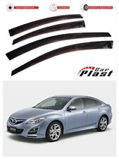 For Mazda 6 Sedan 2012+ 3 Gen Window Deflector Visor Vent Rain Wind Guard