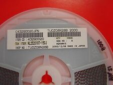 TDK 1008 Size 15uH 5% Inductor NL252018T-150J, Qty.100