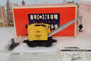 Lionel O Gauge No.18402 Motorized Operating Burro Crane In The Box
