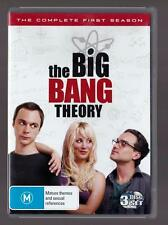 The Big Bang Theory: Season 1,  DVD, 3-Disc Set
