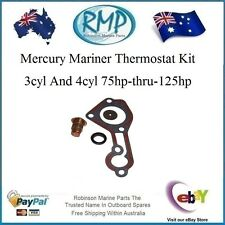 A Brand New Mercury Mariner Thermostat Kit 3 / 4Cyl 75hp-thru-125hp # 803061T1