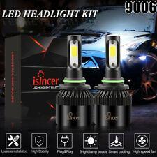 New listing 9006 Hb4 9012 Led Headlight 400W 60000Lm Fog light Kit High Power 6000K X2