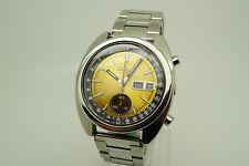 Reloj De Pulsera Seiko Reloj Automático Cronógrafo - 6139-6012 - Restaurada/Personalizado