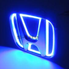 Blue Auto 5D LED Car Tail Logo Light Badge Emblem For Honda Odyssey CIVIC