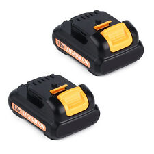 (2) For Dewalt Dcb120 Dcb121 12V 12 Volt Max Lithium Ion Battery Packs New