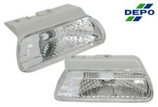 fit 95-99 Dodge Plymouth Neon Euro Clear Signal Lights DEPO PAIR