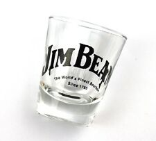 JIM BEAM Vidrio EE.UU. Stamper Vaso para Chupitos Vaso de chupito Shot CRISTAL