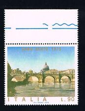 ITALIA 1 FRANCOBOLLO ANNO SANTO 90 LIRE 1975 nuovo** (BI11.516)