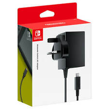 Brand New Unused Nintendo Switch Power Adapter Type G UK Plug Ireland Singapore