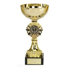 Gold Shield Trophy Cup in 5 Sizes with Free Engraving up to 30 Letters