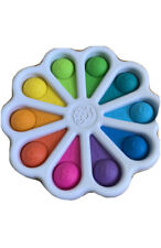 Pop It Number Rainbow FlowerFidget Toy