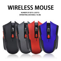 2.4GHz Wireless Optical Mouse Gamer Mice USB Receiver for PC Gaming Laptop new