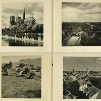 France 1940s Photo Book w/200+ gravures Notre Dame Paris Eiffel Tower Louvre