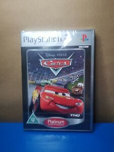 Cars PS2 Pixar Disney Playstation 2 Platinum PAL New
