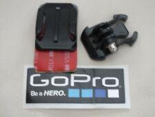 Go Pro Hero 3 4 5 6 7 Curved 3M Helmet Mount Plus Quick Release Clip + Sticker