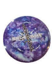 Custom dyed disc golf disc