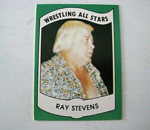 1982 Ray The Crippler Stevens #24 Series B Wrestling All Stars Card