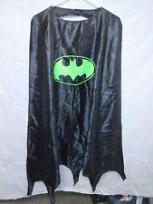 BATMAN Black SIX FLAGS YOUTH CAPE NWT