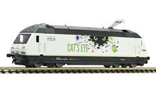 "Fleischmann 731311 Elektrolokomotive Re 465 ""CAT'S EYE"", BLS Spur N Neu"