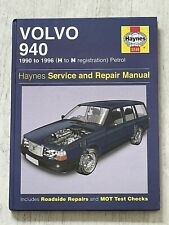 Haynes Manual 3249 - Volvo 940, 1990 to 1996, petrol