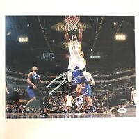 Myles Turner Signed Autographed 11x14 PSA/DNA Indiana Pacers Oladipo