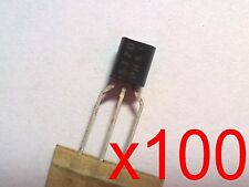 100x BS170 - Transistor DMOSFET-N 60V 500mA  TO92