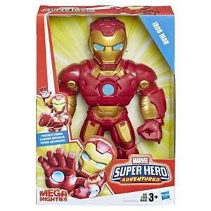 "Playskool Heroes Marvel Super Hero Adventures Mega Mighties 10"" Iron Man"