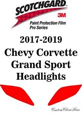 3M Scotchgard Paint Film Pro Series 2017 2018 2019 Chevy Corvette Grand Sport