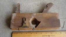 J. KELLOGG Moulding Plane AMHERST MS Antique Woodworking Carpenter Tool 9 1/2""