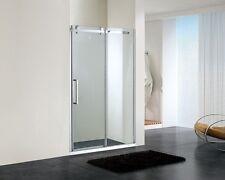 Frameless Sliding Shower Screen 2000 mm High x 1210 -1190 mm Front Only