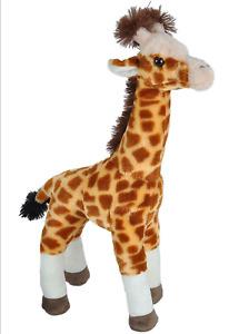 "~❤️~WILD REPUBLIC Standing GIRAFFE 17"" 43cm Plush Animal Soft Toy Stuffed NWT❤️"