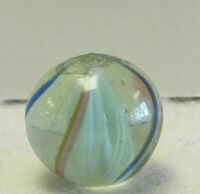 8844m Vintage German Handmade Swirl Marble .55 Inches