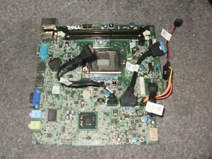 Dell Optiplex 7010 USFF Motherboard & Sata Cables DP/N 0MN1TX Tested OK Ref DEL1