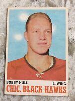 BOBBY HULL 1970-71 O-PEE-CHEE 1970-71 NO 15 VG+  R387