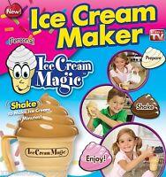 Ice Cream Magic Ice Cream Maker - As Seen On TV - Makes Ice Cream in 3 Min!