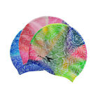 New Women's Adult Aqua Sprint 100% Soft Silicone Swim Cap