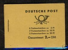 Germany DDR 1955  MH3B2  MNH Complete Booklet