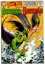 BRAVE AND THE BOLD #51 5.0 OFF-WHITE TO WHITE PAGES SILVER AGE AQUAMAN