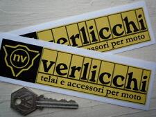 "Verlicchi Carrera partes Motocicleta pegatinas 6 ""de competición de Ducati Marcos De Bicicleta Bicicleta"