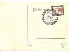 AR116 1937 GERMANY Garmisch-Partenkirch Commemorative Postcard. Wintersports