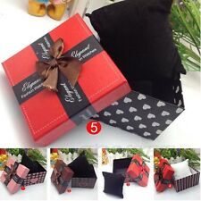 Fashion Durable Present Gift Box Case For Bracelet Bangle Jewelry Watch Case Box