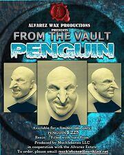 Alvarez Wax Danny Devito Penguin Resin Life Size Batman Returns Bust Tim Burton