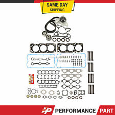 Head Gasket Set Timing Belt Kit Water Pump for  02-05 Kia Sedona 3.5 G6CU