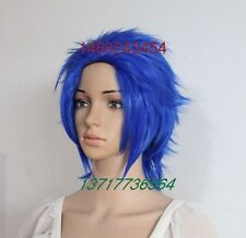 Styled Levy Mcgarden Wig Anime Fairy Tail Levy Heat Resistant Hair Cosplay Wigs