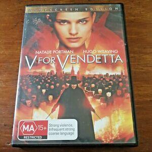 V for Vendetta DVD R4 Like New! – FREE POST